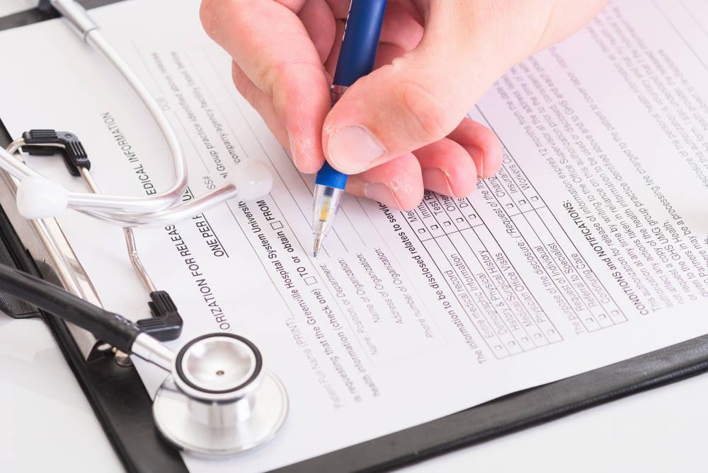 Informe médico con restricciones laborales
